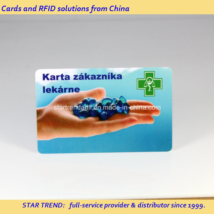Emergency Service Card Made of PVC with Magnetic Stripe (ISO 7811) pictures & photos
