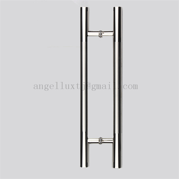 glass door pull handle. Commercial Use Glass Door Handle Shop Store Stainless Steel Pull Easy To Install