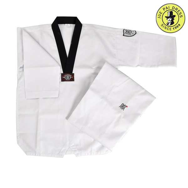 100% Cotton Tkd Uniform White Taekwondo Uniform