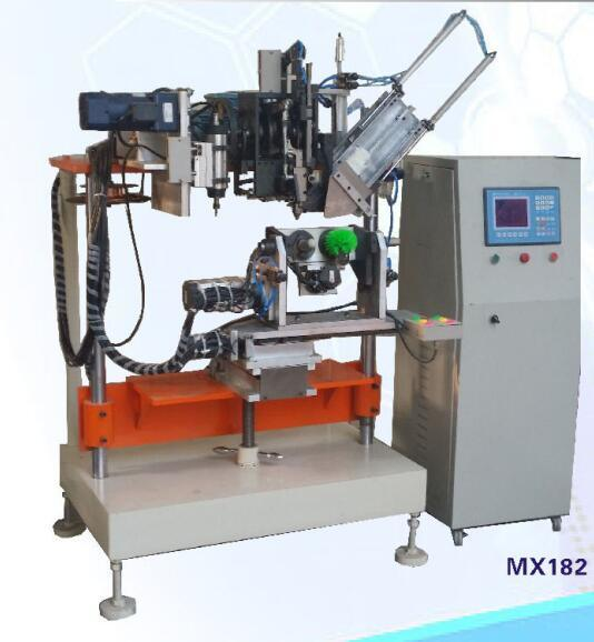4 Axis One Drilling and One Tufting Toilet Brush Machine