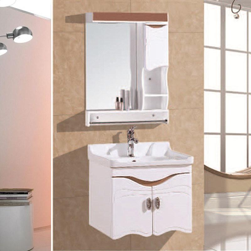China Pvc Household White Bathroom Vanity Cabinet Furniture