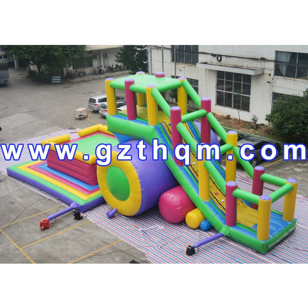 Inflatable Canton Fair Inflatable Dry Slide/Popular Newest Inflatable Bouncer Adult