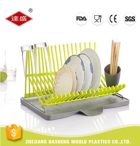 Chinese Style Kitchen Utensil Dish Rack