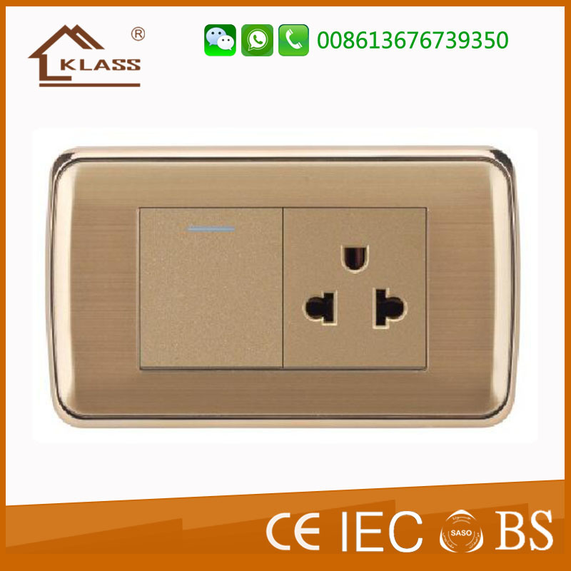 Hot Sell Germany EU Europe Schuko Wall Socket pictures & photos