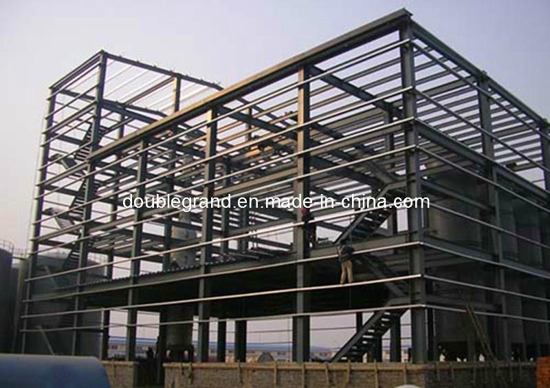 China Steel Frame Construction Steel Structure Workshop (DG3-065 ...