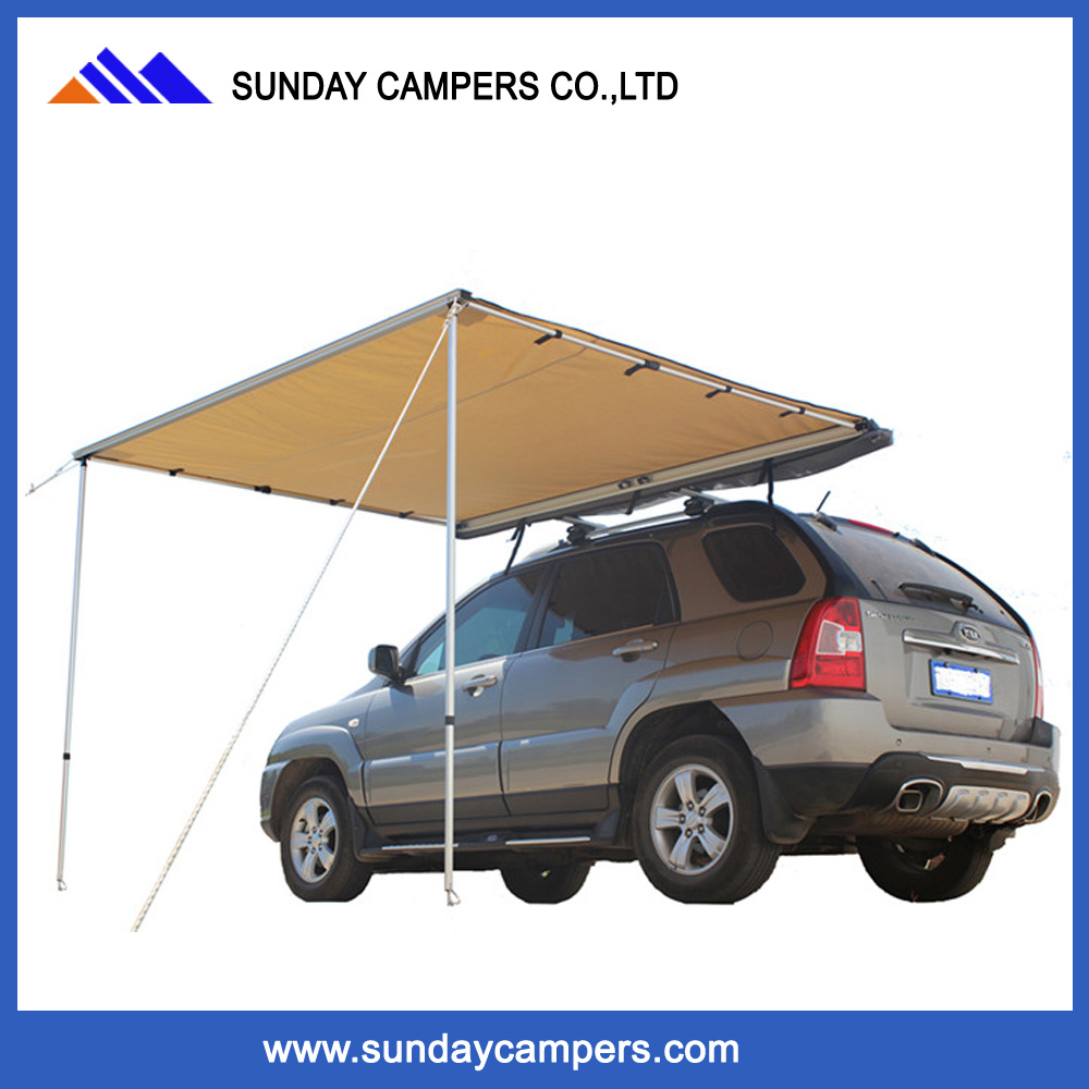 4Wd Awning Tent [hot item] roof rack outdoor car top canvas 4x4 awning tent