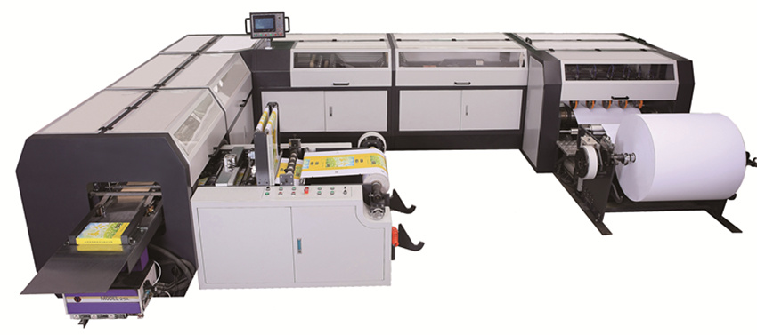 A4 and A3 Cut Size Sheeting and Wrapping Machine