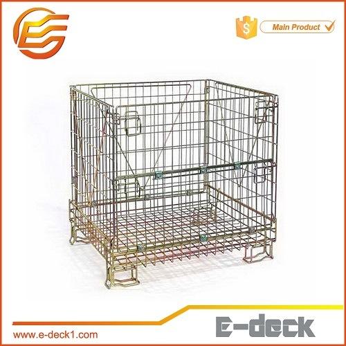 China Pet Preform Mesh Box Wire Cage Metal Bin Storage Container   China  Wire Mesh Container, Wire Container