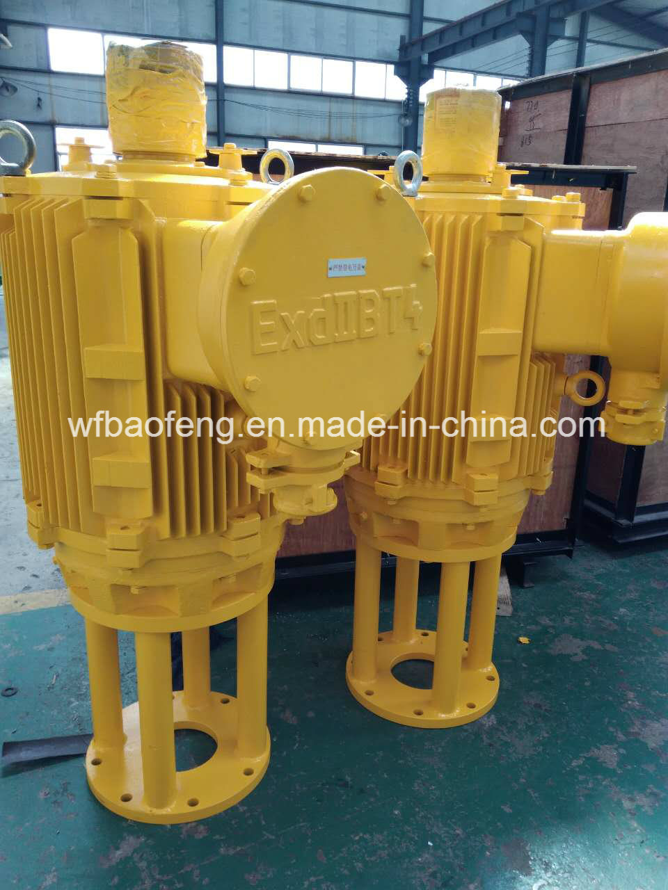 Coalbed Methane Downhole Screw Pump Well Pump Ground Driving Motor pictures & photos