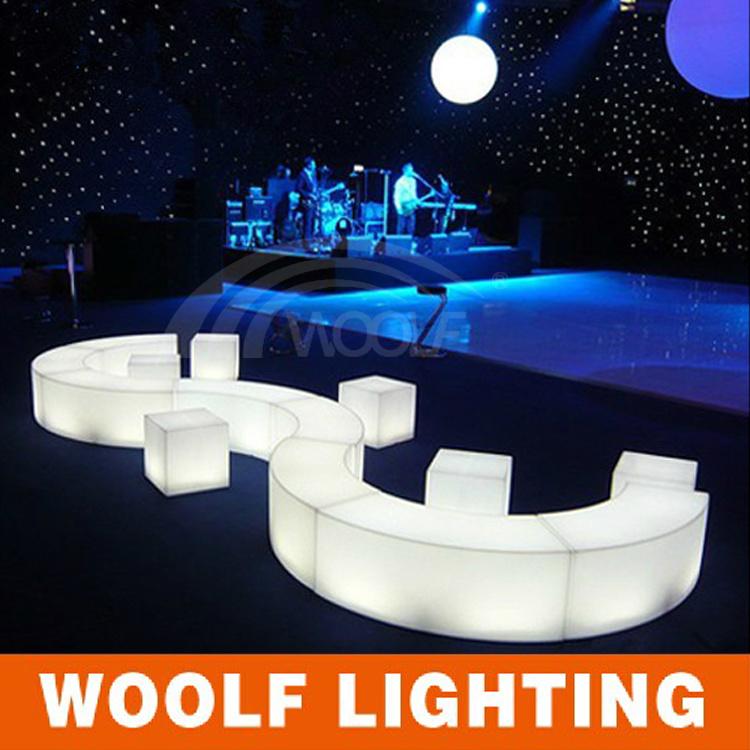 China More 300 Designs Led Bar Sofa Furniture Event Nightclub Light Rotating Plastic With