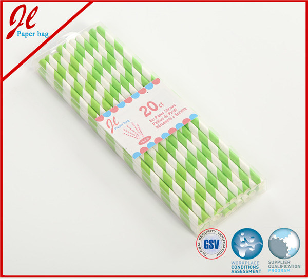 Purple Eco Party Drinking Paper Straw Party Products