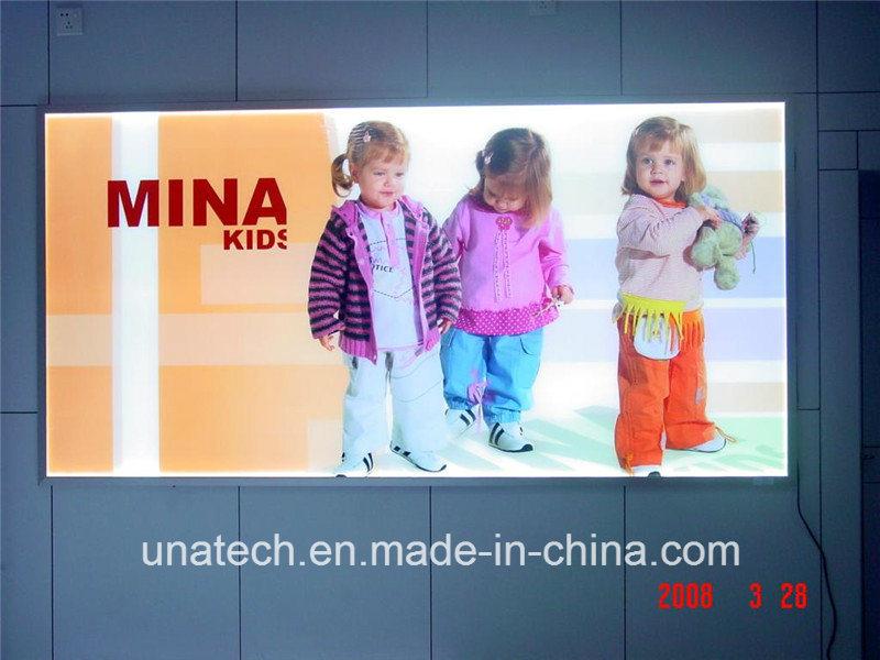 China Wall Mounted LED Advertising Aluminium Snap Frame PP Paper ...