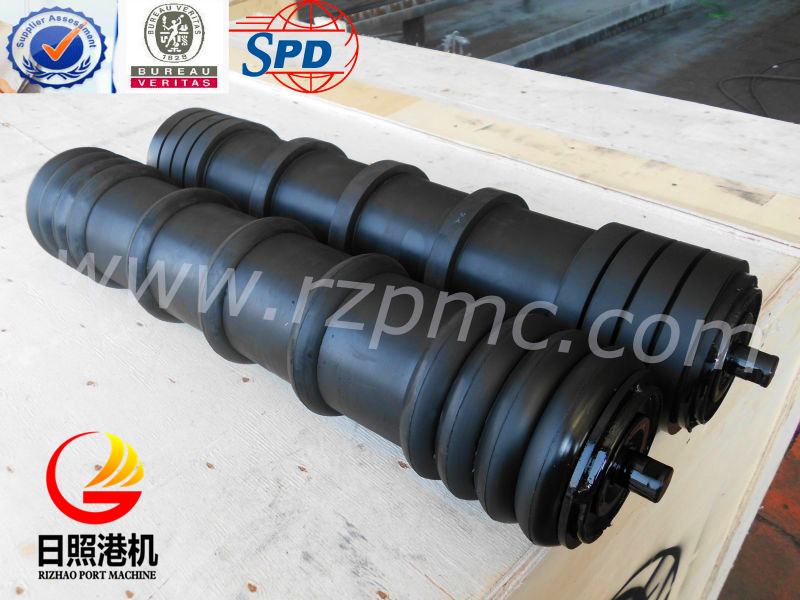 SPD Conveyor Return Roller, Rubber Disc Roller, Comb Roller for Germany Market pictures & photos