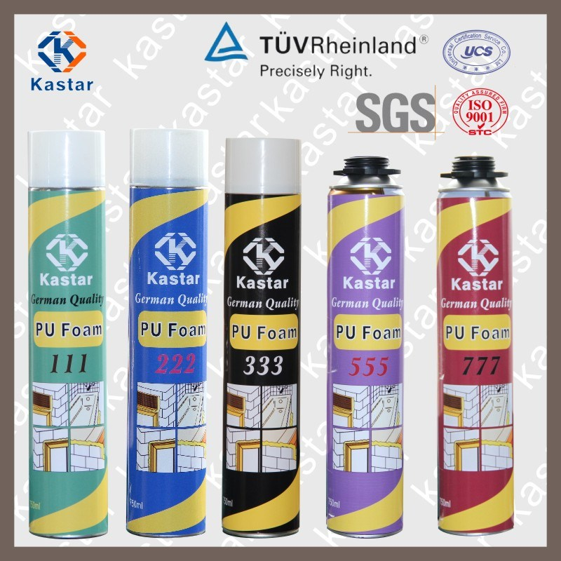 Good Manufacturers Aerosol Canned PU Foam Sealant (Kastar 222)