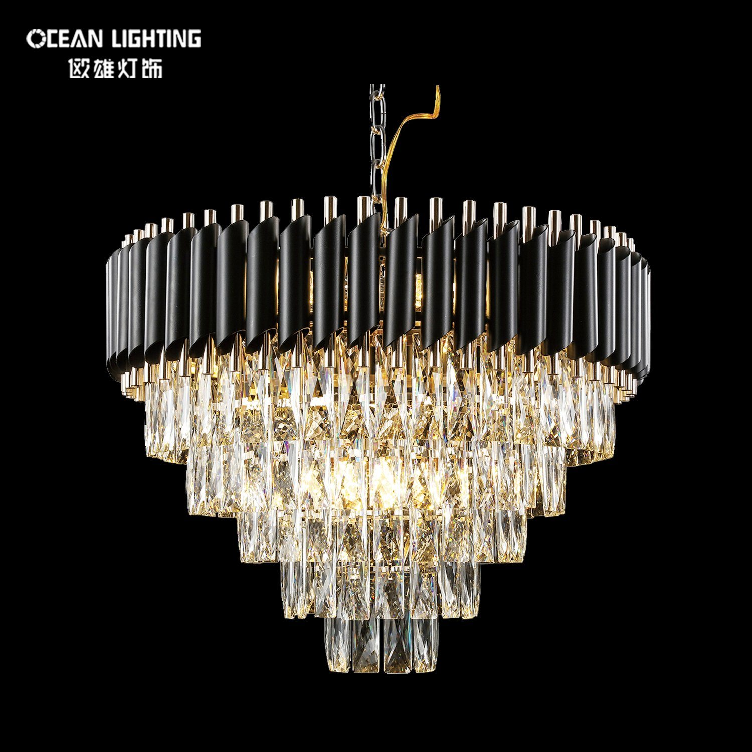 Home Lighting Indoor Decoration Lamp Luxury Pendant Light Crystal Chandelier