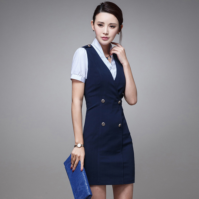 China Wholesale Fashion Design Career Slim Dress Women For Ladies Dresses China Women Dress And Career Dress Price
