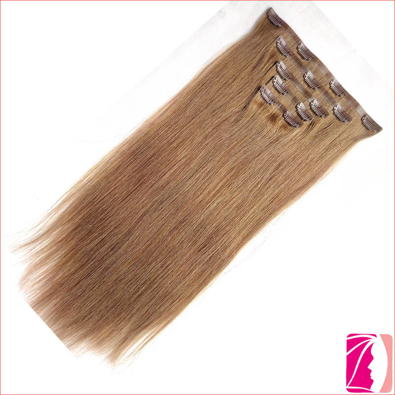 China Tangle Free Remy Seamless Clip In Hair Extension China