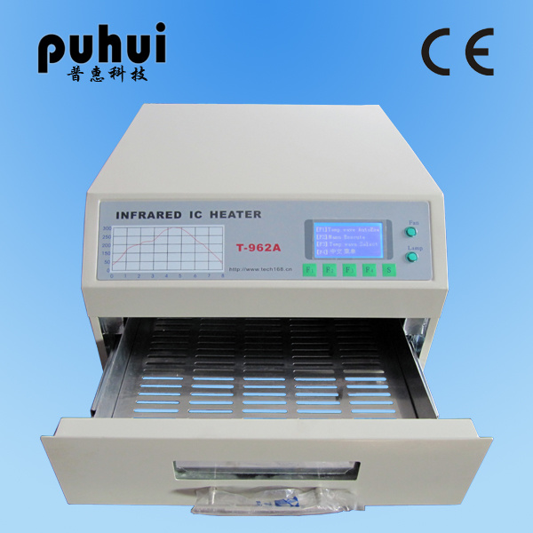 T962A Reflow Oven, Infrared Soldering Station, Infrared IC Heater From Taian Puhui