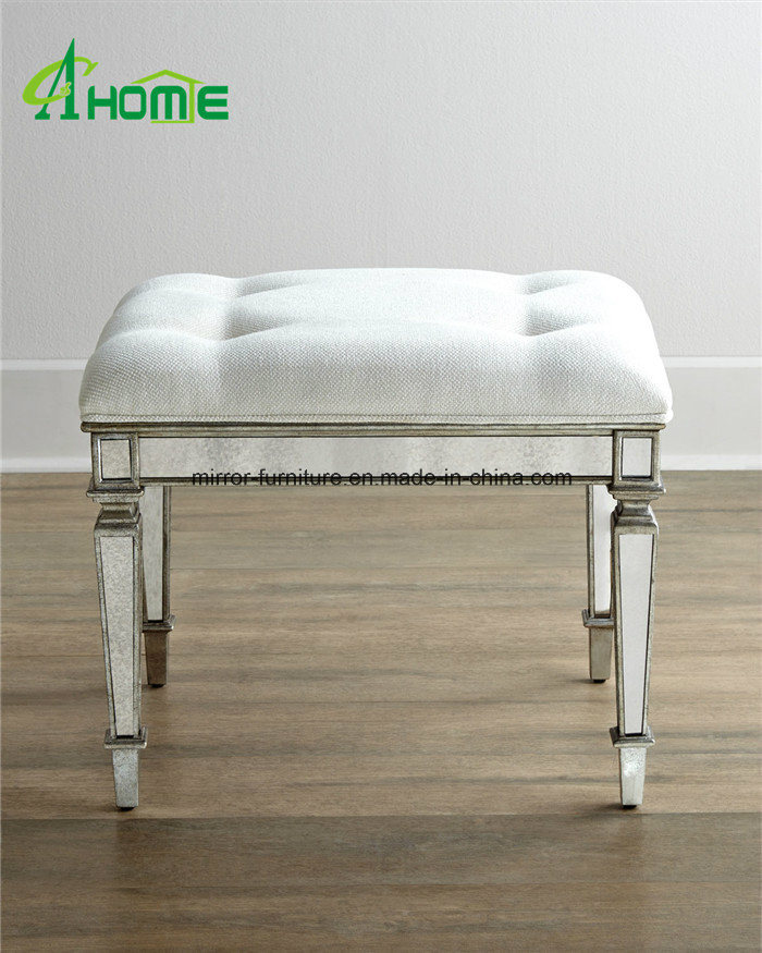 China Mirrored Furniture Modern Dressing Table Stools China Mirrored Stool Dressing Table Stool