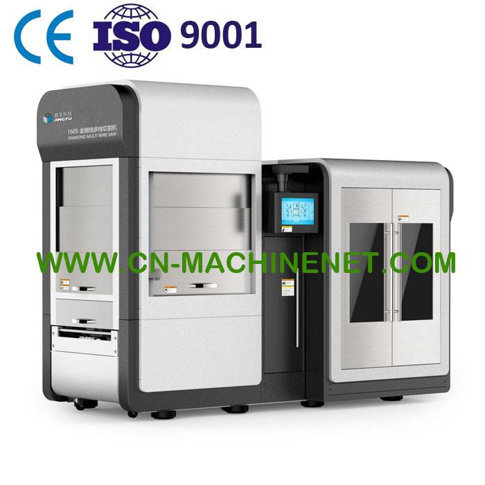 China Ybdx160s Automatic Diamond Multi Wire Saw Cutting Machine ...