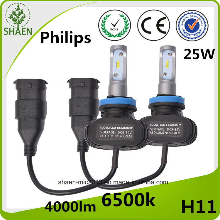 All in One Cheapest Price 4000lm LED Car Headlight H11 for All Cars