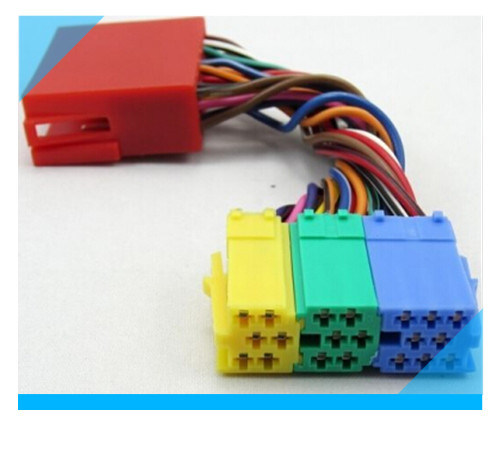 custom 20 pin audi audio iso wire harness