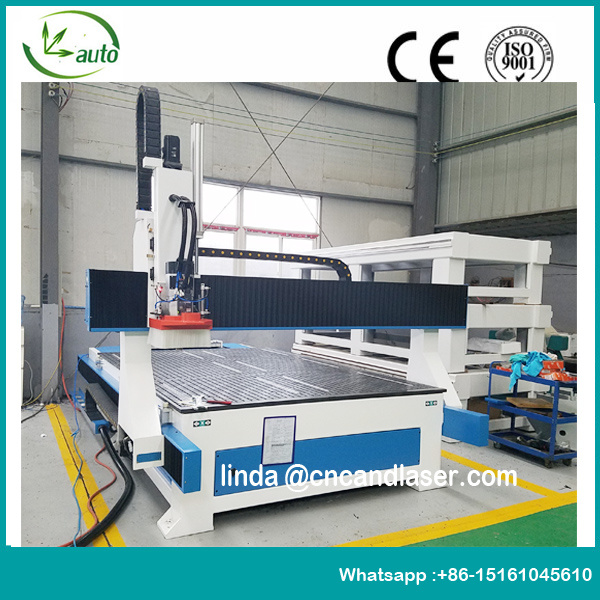 Linear Type Atc CNC Routers CNC Engraving Machine