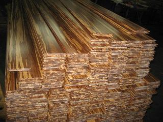 China Zebra Tiger Strand Woven Bamboo Flooring China
