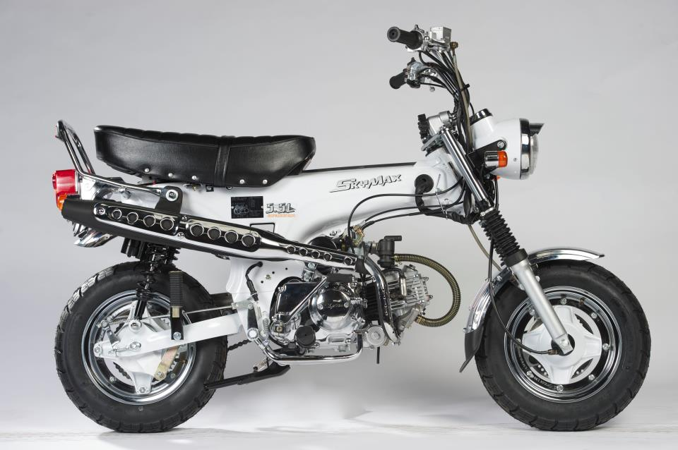 china skyteam 50cc 125cc 4 stroke motorcycle classic dax. Black Bedroom Furniture Sets. Home Design Ideas