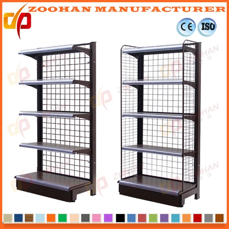 China Supermarket Wall Wire Shelves Storage Store Display Fixtures ...