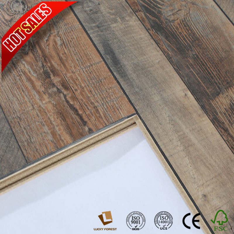 China Melamine Laminate Flooring 12mm Ac4 Class32 Hardwood Building Material