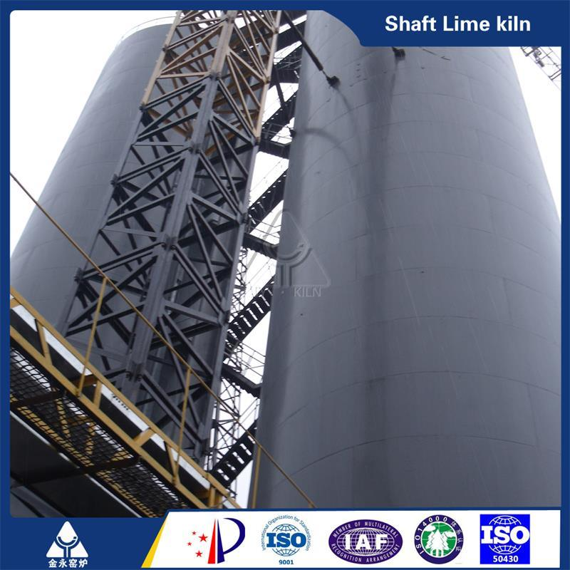 Easy Operation Lime Vertical Shaft Kiln