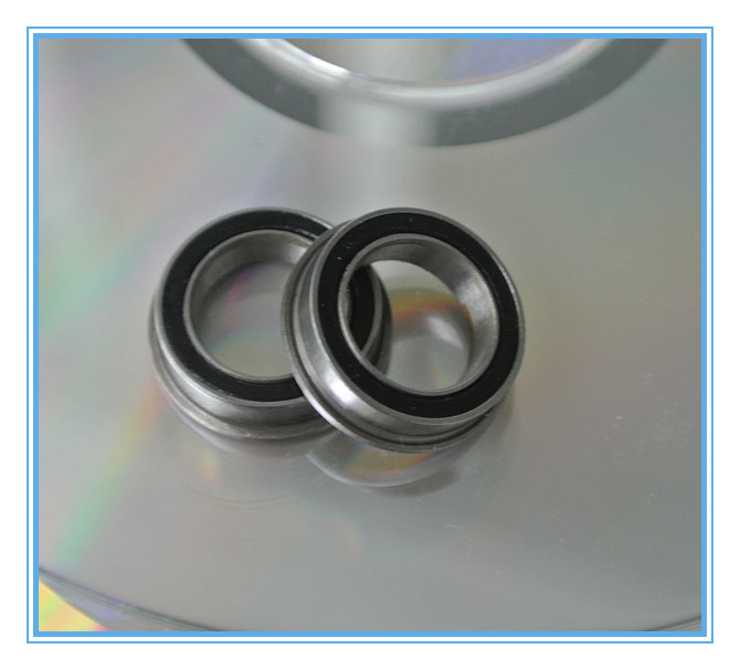 "5//8/"" x 1-3//8/"" x 11//32/"" FR10zz 5 PCS Flanged Metal Shielded Ball Bearings"