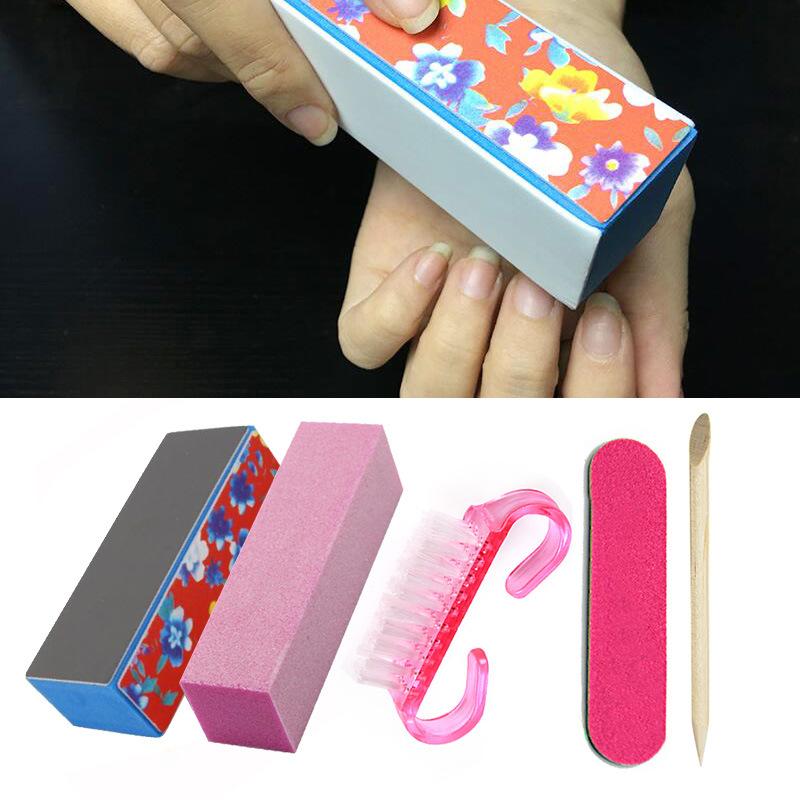 China Sanding Polish Grinding Block Buffer Nail File Stick Dust ...