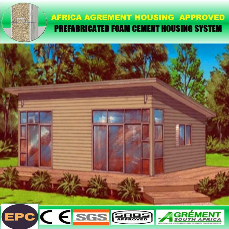 Fabulous cheap portable luxury new villas house prefab for Portable bungalow for sale