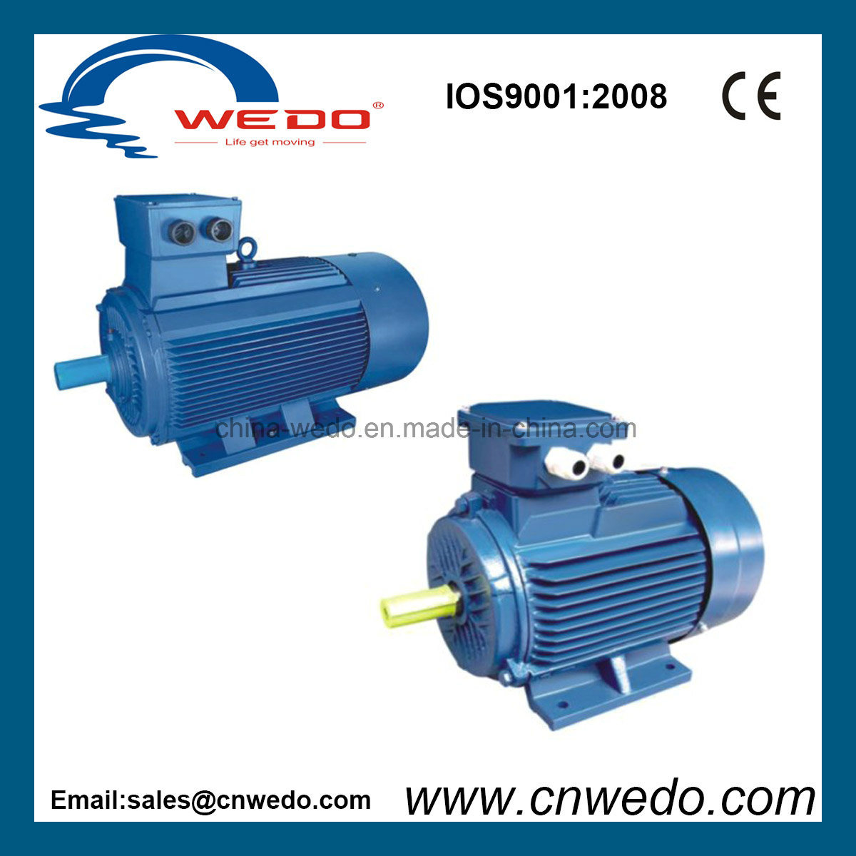 China Y2-80m1-4 Three Phase High Effciency Electric Motor - China ...