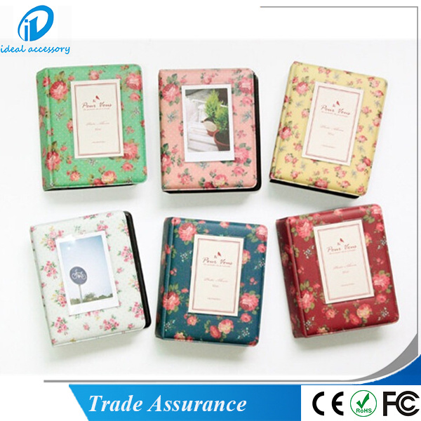 Flower Pattern Polaroid Mini Film Photo Holder