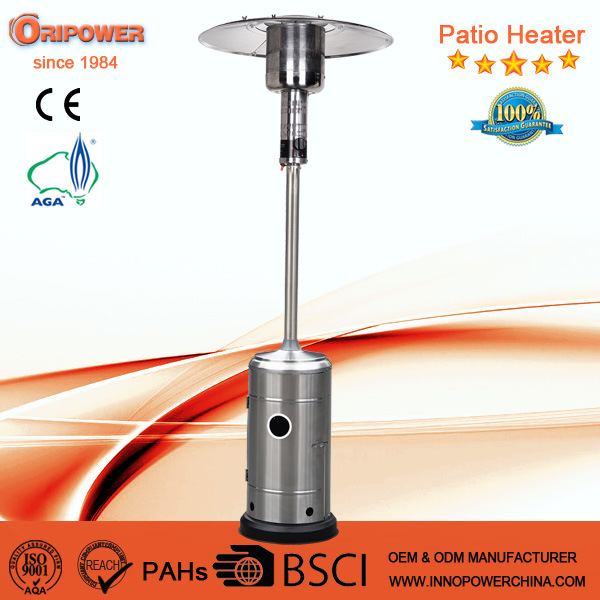China 2016 Best Stainless Steel Outdoor Patio Heaters With Ce Aga Csa Heater