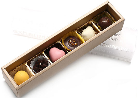Hot Item Corrugated Paper Chocolate Gift Box Cute Small Metal Tin Boxes