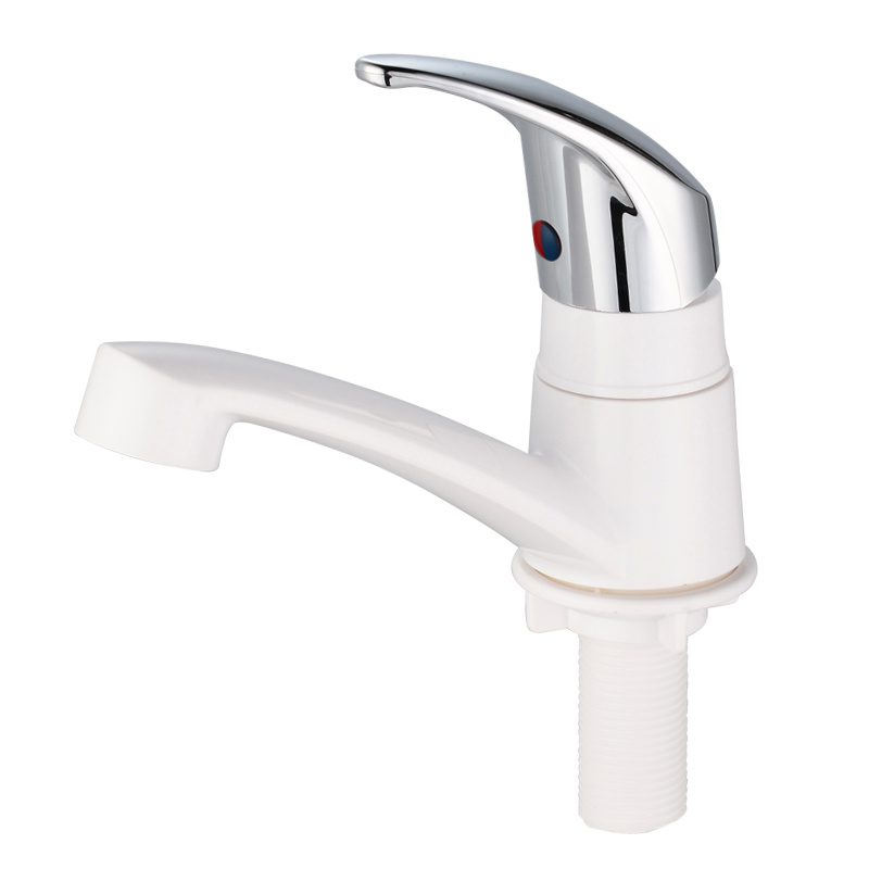 ABS Plastic Basin Water Tap with Chrome Finished