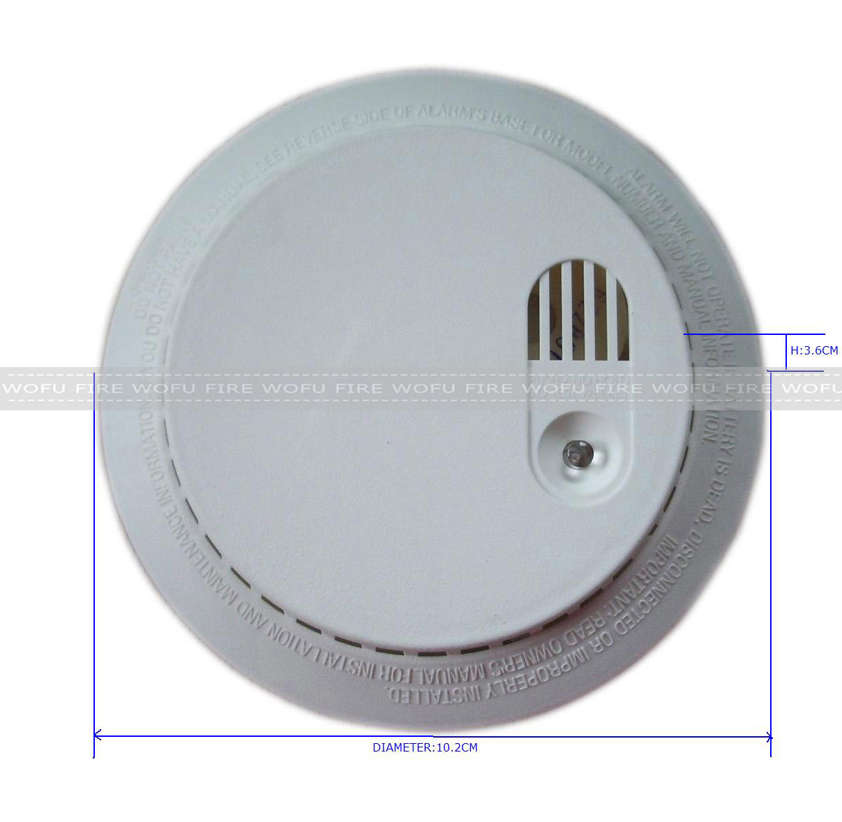 9V Battery Stand Alone Smoke Detector pictures & photos