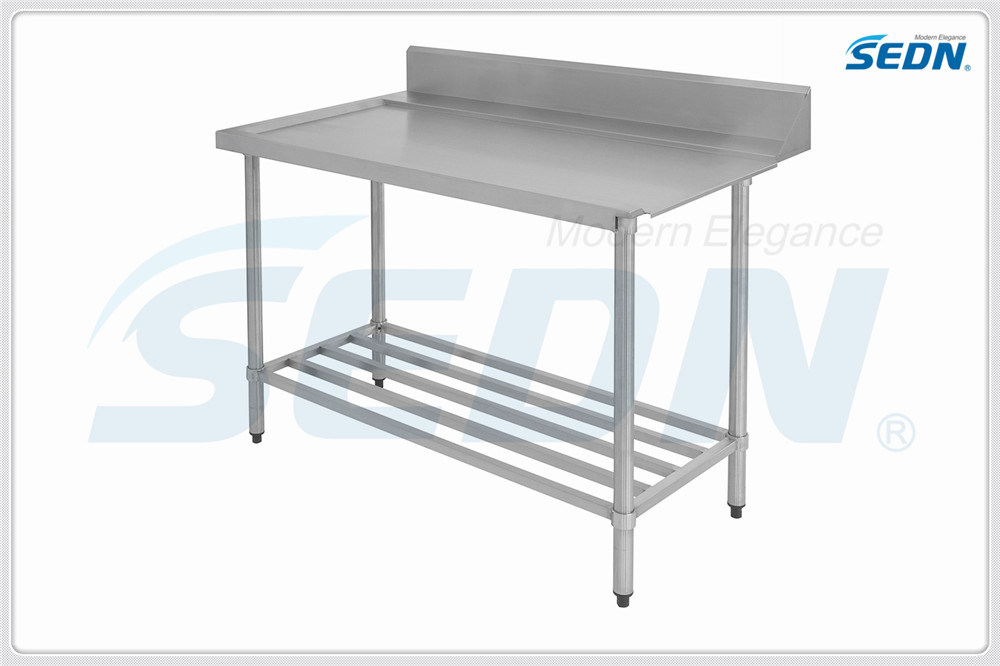 Handmade Commercial Stainless Steel Dishwasher Outlet Benches (MT5024)