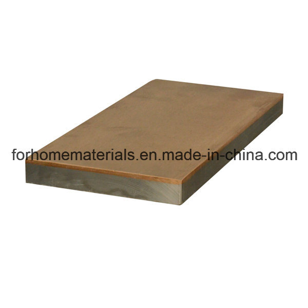 Abrasion Resistant Plate Explosive Bonding Red Copper Steel Clad Sheet pictures & photos