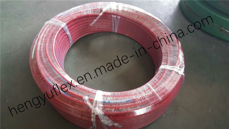Steel Wire Braided High Pressure Washer Jet Clean Rubber Hydraulic Hose with 4000psi 6000psi 12000psi