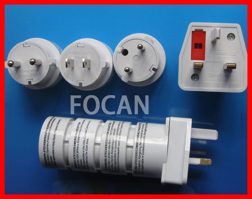 Universal Travel Adapter Plug with USB pictures & photos