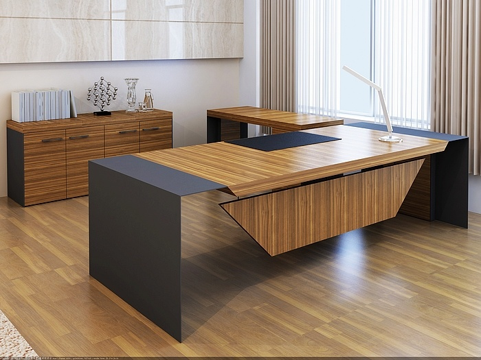 Hot Item Modern Executive Ceo Office Furniture Wooden Metal Table Desk