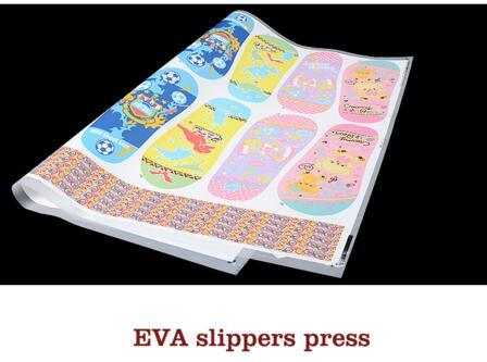 Economic EVA Slipper Heat Transfer Sticker