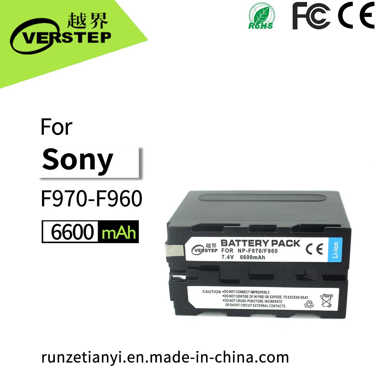 Li-ion Battery for Sony HDR-FX1E DCR-TRV130E CCD-TR818 CCD-TRV94E CCD-TR300 NEW