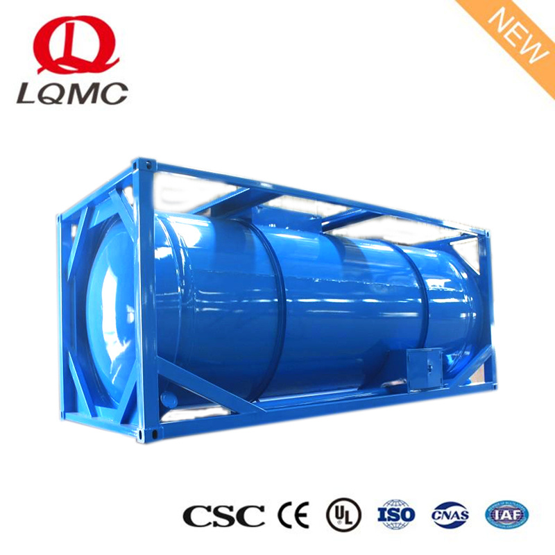 China Large Volume Liquid Gas Diesel Storage ISO Tank Container