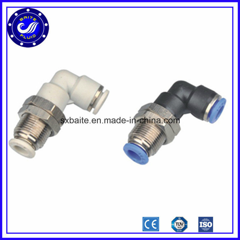 China Stainless Steel Straight Pneumatic Fitting Quick Connect Air